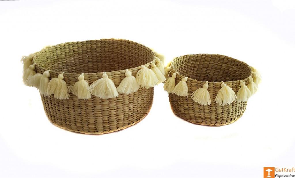 Kauna Handmade Laundry Basket (set of 2)(#643)-gallery-4