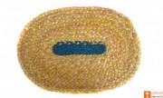 Jute Handmade Doormat (Multicolored)(#649) - getkraft.com