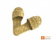Handmade Unique Kauna Slip-on Slippers (Unisex)(#667) - getkraft.com