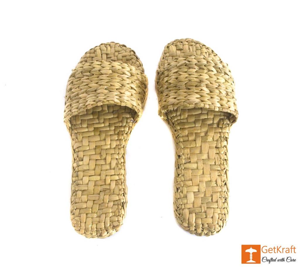 Handmade Unique Kauna Slip-on Slippers (Unisex)(#669)-gallery-1