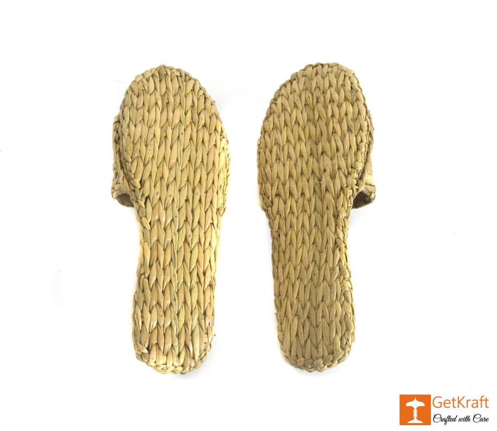 Handmade Unique Kauna Slip-on Slippers (Unisex)(#669)-gallery-2