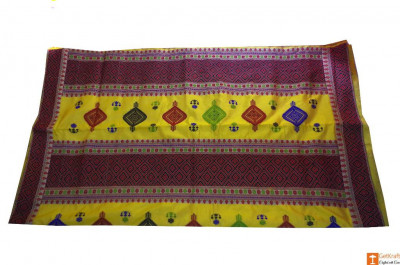 Assamese Pure Pat Silk Saree(#702)-gallery-0