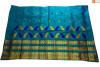 Enchanting Mekhela Chador Set(Sea Green color)(#705)-thumb-0