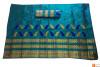 Enchanting Mekhela Chador Set(Sea Green color)(#705)-thumb-1