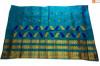 Enchanting Mekhela Chador Set(Sea Green color)(#705) - Getkraft.com
