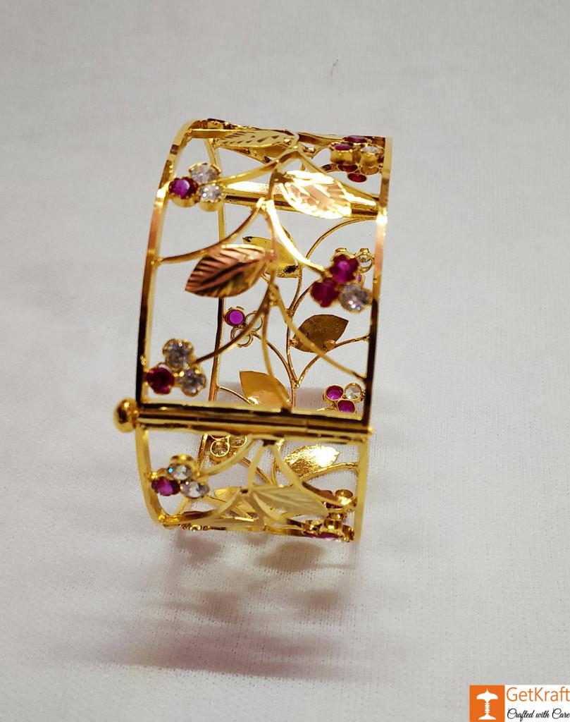 Assamese Jewellery Kharu - Bangles for Women(#725)-gallery-1