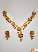 Xewali Phool Haar Set Assamese Traditional Designer Jewellery(#730) - getkraft.com