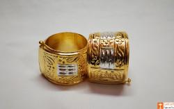 Classic Assamese Traditional Jewellery Gamkharu - Pair of Bangles(#737) - getkraft.com