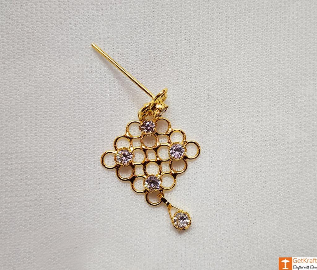 Stylish Designer Golpota Necklace Jewellery Set for Women(#741)-gallery-1