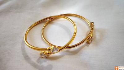 Beautiful Designer Assamese Jewellery Bangles Pair(#742)-gallery-0