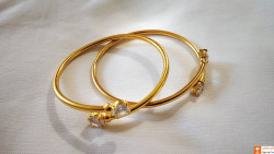 Beautiful Designer Assamese Jewellery Bangles Pair(#742) - getkraft.com