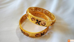 Stunning Gold Jewellery Bangles from Assam(#743) - getkraft.com