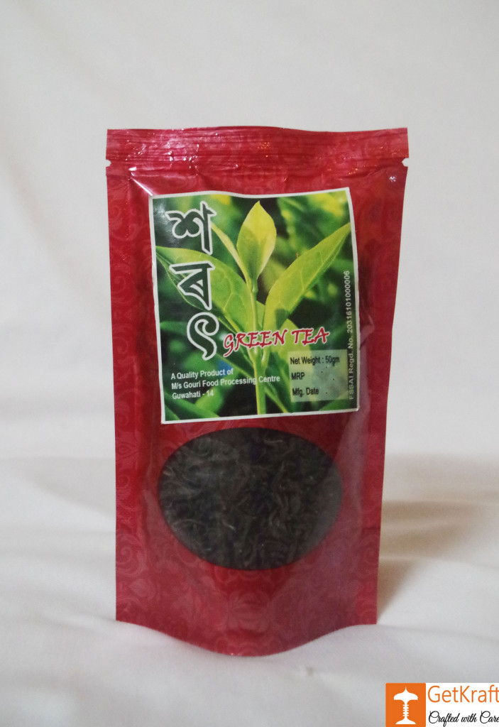 Green Tea from Assam by Ms Gouri(#746)-gallery-0