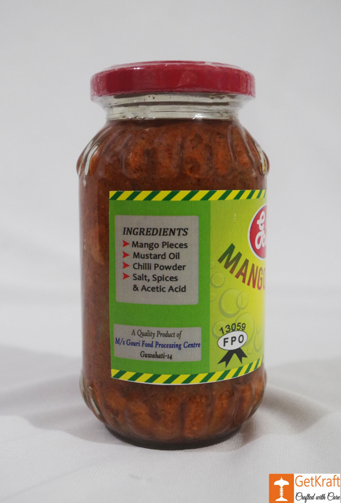 Mango Pickle from Ms Gouri(#747)-gallery-1