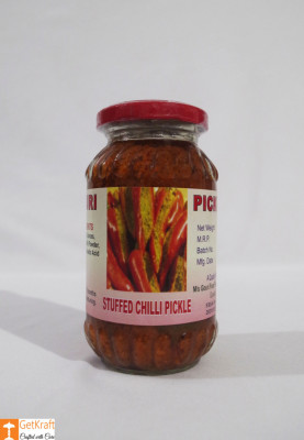 Stuffed Chilli Pickle 300g Stuffed Mirchi Achaar(#757)-gallery-0