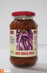 Sweet Brinjal Pickle by Ms Gouri 300g(#758) - getkraft.com