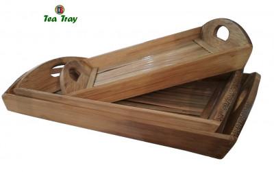 Bamboo Tea Trays Big - Medium - Small by DB Industries(#761)-gallery-0
