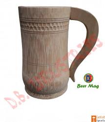 Coffee Tea Beer Mug made of Bamboo Small Medium Big(#764) - getkraft.com