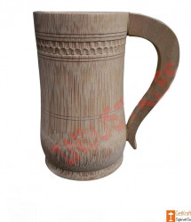 Coffee Tea Beer Mug made of Bamboo Small Medium Big(#764) - getkraft.com