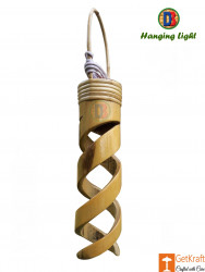 Bamboo Spiral Hanging Lamp by DB(#771) - getkraft.com