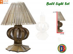 Bamboo Designer Table Lampshade by DB(#772) - getkraft.com