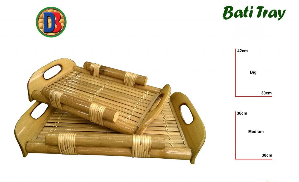 Bamboo Serving Kitchen Tray by DB(#773)-gallery-0