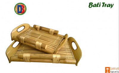 Bamboo Serving Kitchen Tray by DB(#774)-gallery-0