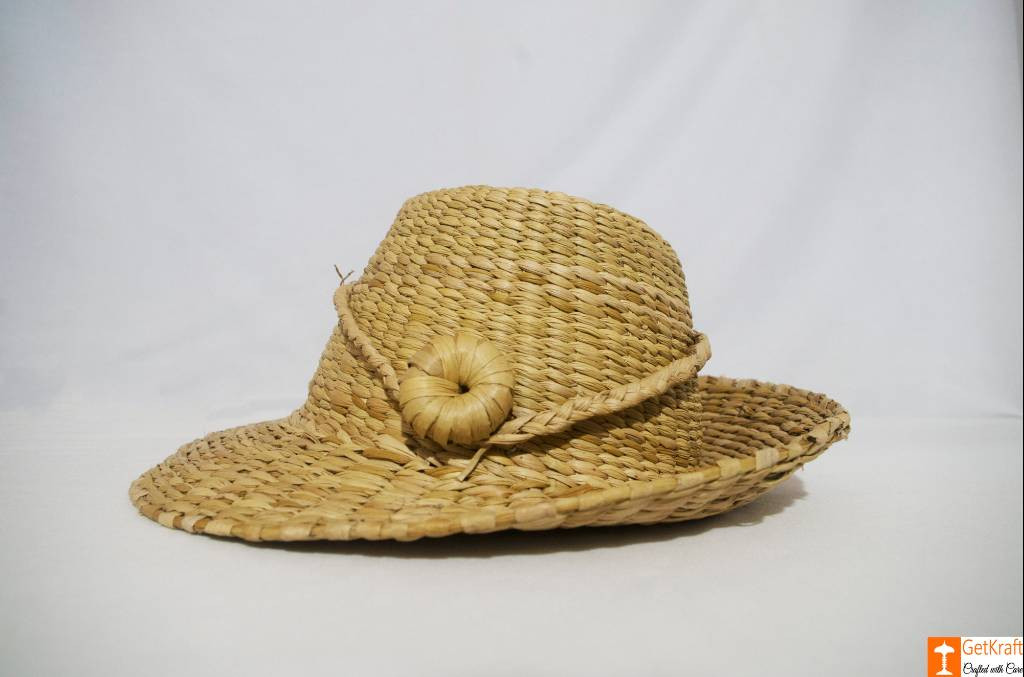 Stylish Kauna Water Reed Hat(#783)-gallery-0