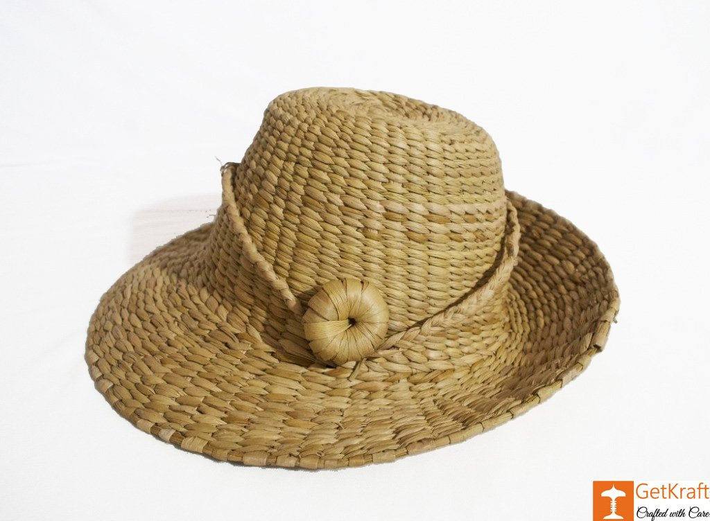 Stylish Kauna Water Reed Hat(#783)-gallery-1
