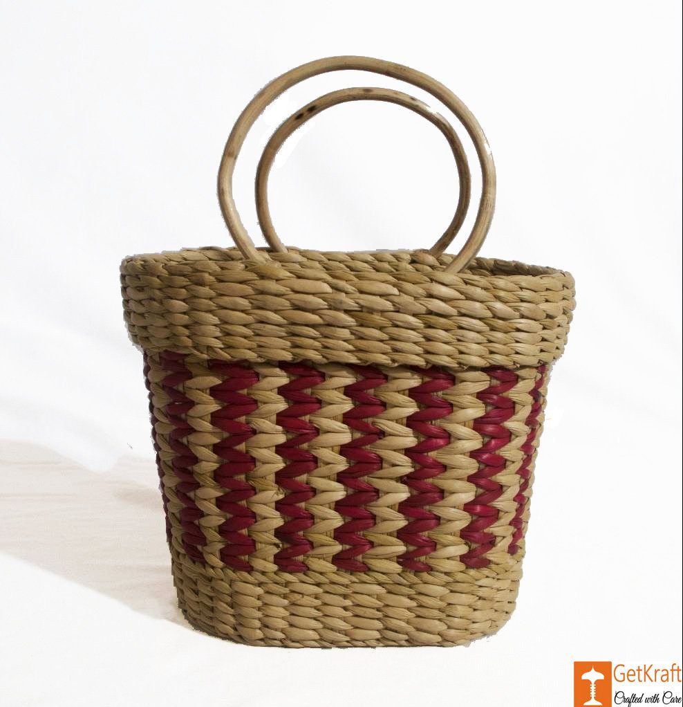 Natural Straw Mini Bag 7x8 inch(#786)-gallery-0