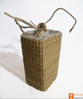 Kauna Water Juice Wine Bottle Carrier Basket(#787)-gallery-0