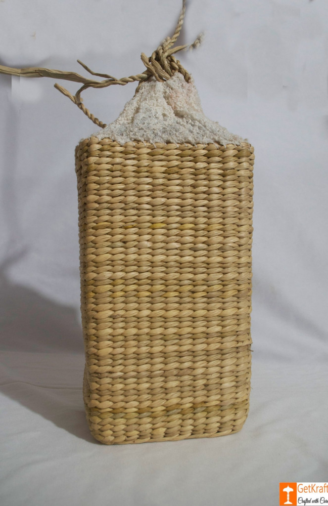 Kauna Water Juice Wine Bottle Carrier Basket(#787)-gallery-1