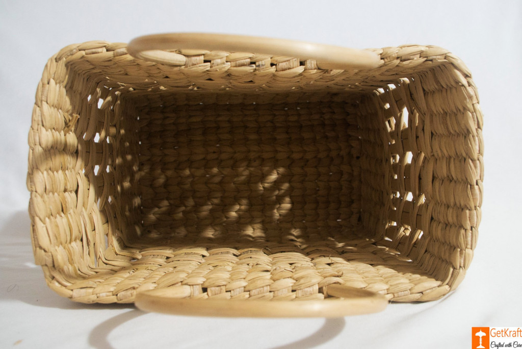 Natural Straw Handmade Net Shopping Bag(#792)-gallery-3