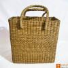 Handmade Straw Beach Picnic Shopping Bag(#797) - Getkraft.com