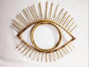 Eye Shaped Mirror Frame(#802) - getkraft.com