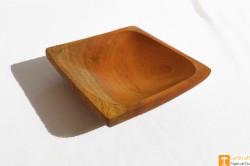 Wooden Acacia Snacks and Fruit Bowl(Set of 3)(#812) - getkraft.com