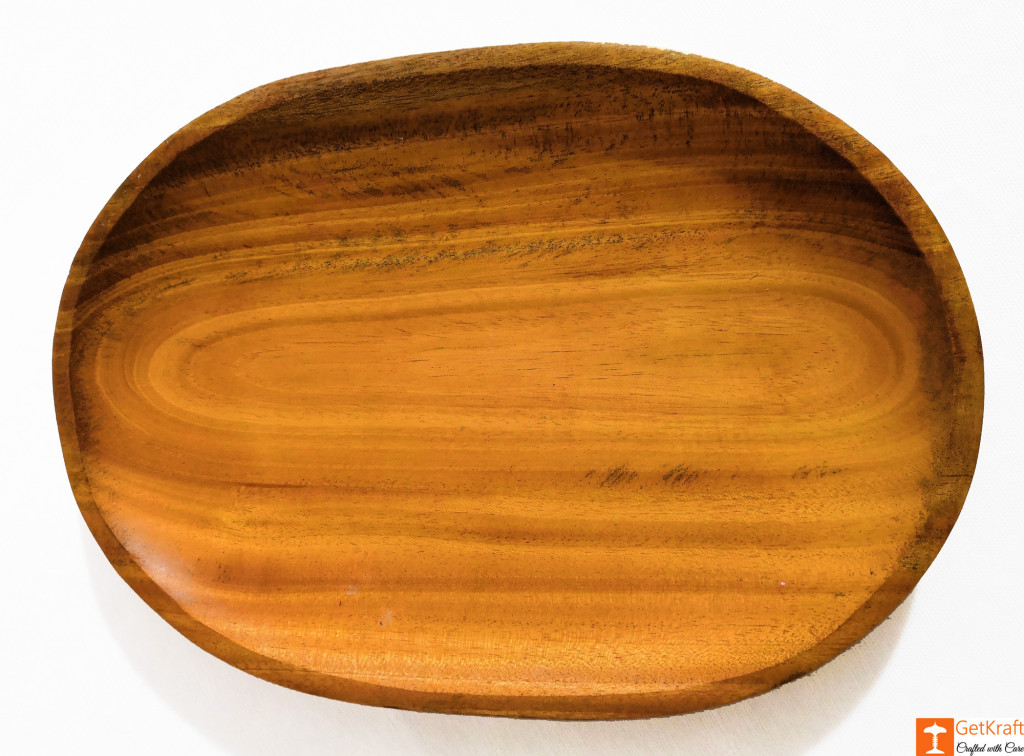 Wooden Round Valet Catch-all Tray(#814)-gallery-0
