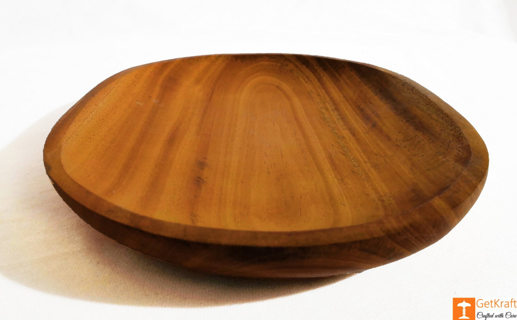 Wooden Round Valet Catch-all Tray(#814)-gallery-1