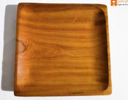 Handicraft Acacia Wooden Catch all Tray-Key Tray-Valet Tray(#816) - getkraft.com
