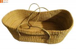 Baby Basket made from Kauna-Water Reed(#825) - getkraft.com