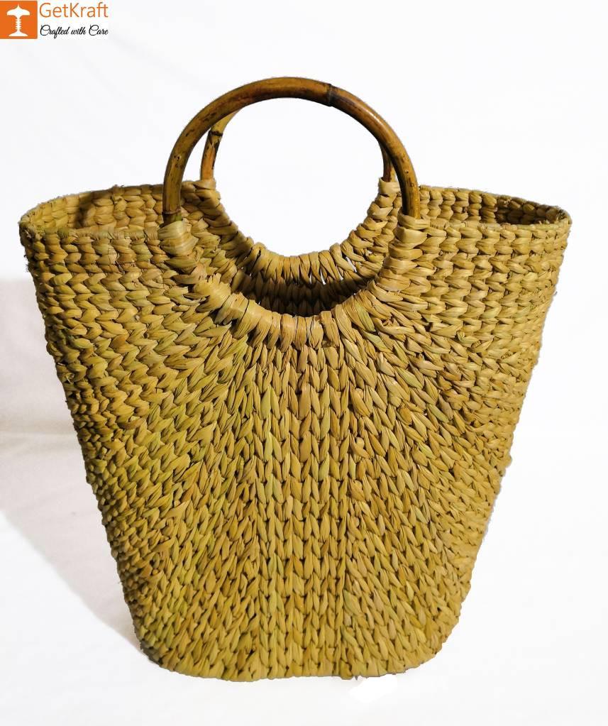 Kouna Natural V-bag for Women(#842)-gallery-0