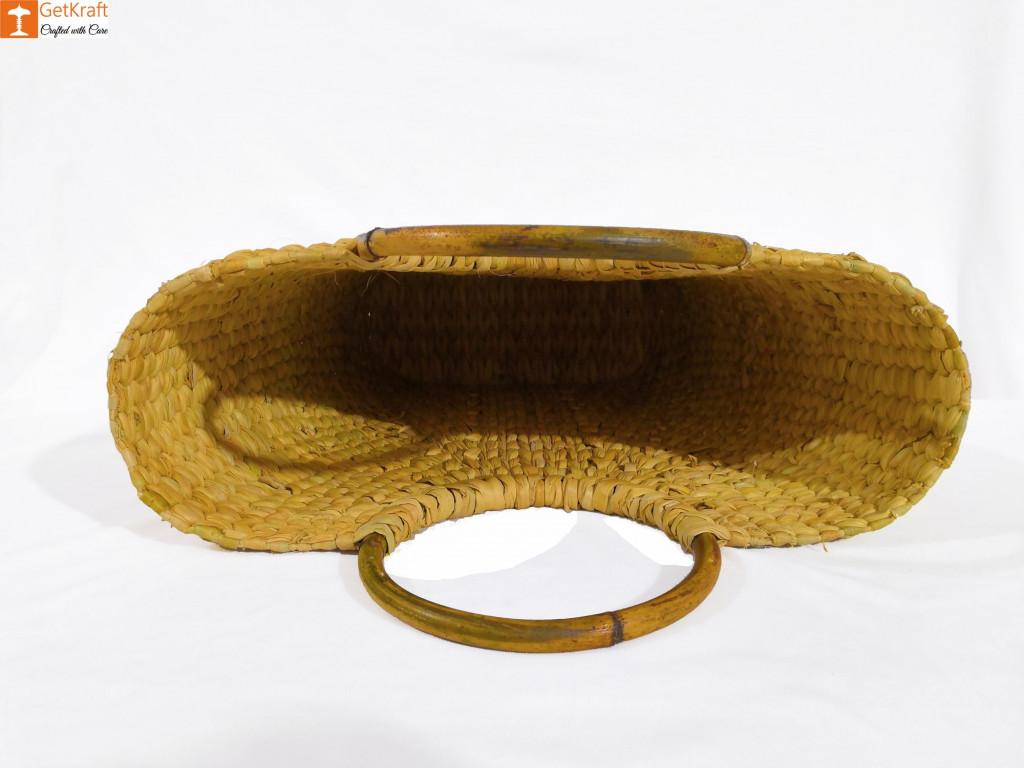 Kouna Natural V-bag for Women(#842)-gallery-2