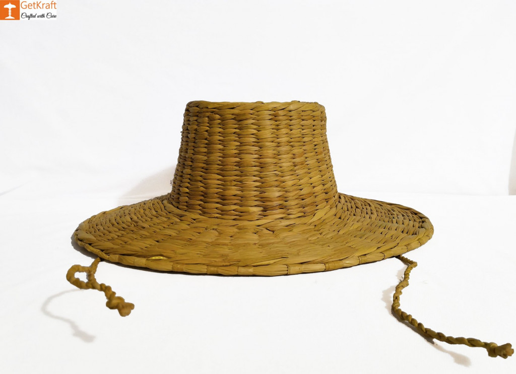 Kouna Summer Hat with Laces Water Reed Straw Hat(#852)-gallery-1