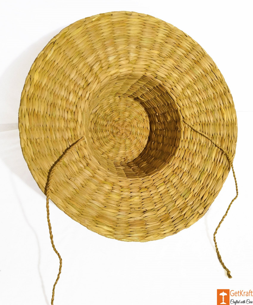 Kouna Summer Hat with Laces Water Reed Straw Hat(#852)-gallery-2