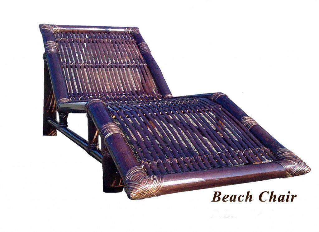 Bamboo Beach Outdoor Chair(#863)-gallery-0