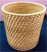 Simple Rattan Bin Basket(#876) - getkraft.com