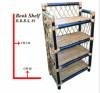 Bamboo book shelf book keeping rack(#877) - getkraft.com