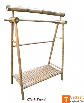 Bamboo Cloth Stand(#878)-gallery-0