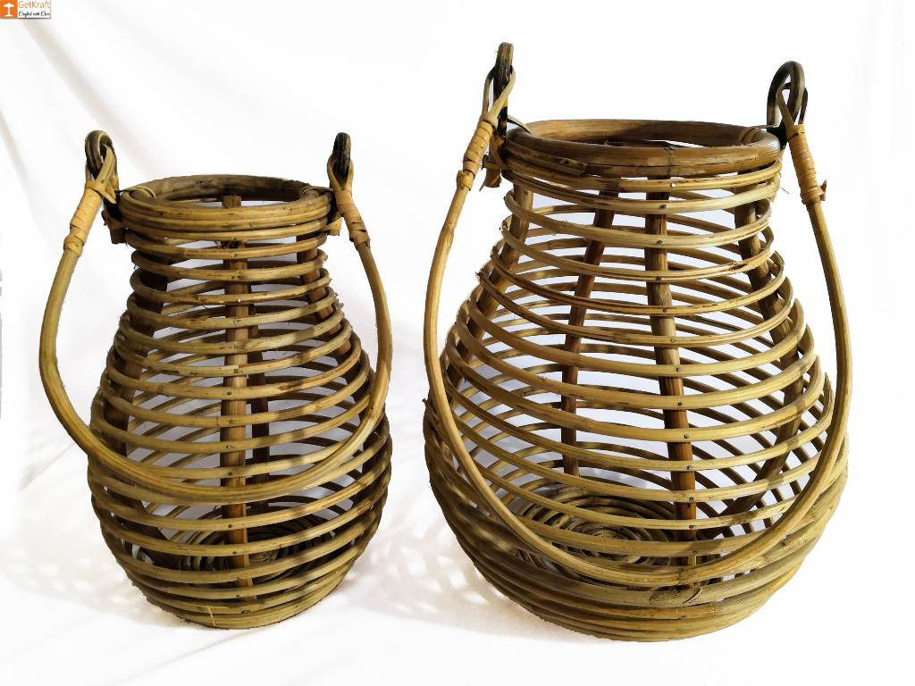 Multipurpose Cane Matka Basket(#891)-gallery-0