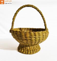 Kauna Handmade Small Basket 7x12 cm(#898) - getkraft.com
